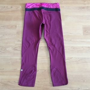 Lululemon run inspire crop leggings ace spot 4